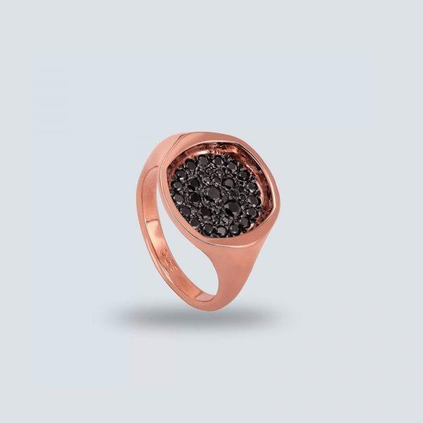 Cusion Pavé Ring
