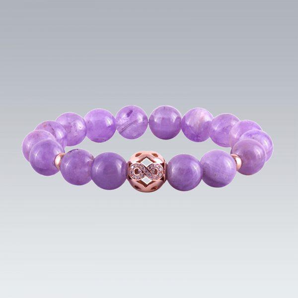 Infinity Bead Bracelet